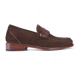 James Taylor & Son – Brown Ladies Loafer