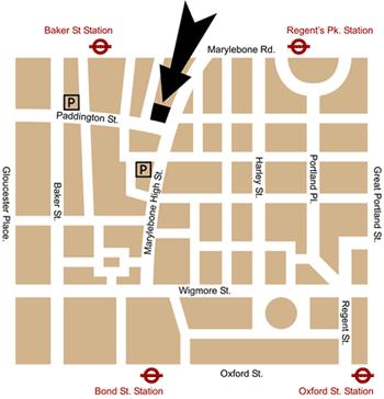 London shop map