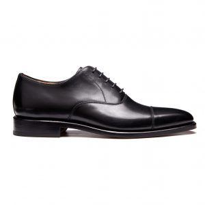 Men's Oxford, leather sole – Black