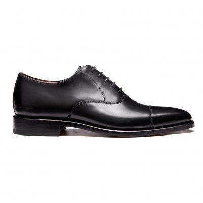 Men's Oxford, leather sole – Black