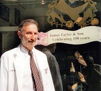 Peter Schweiger, Bespoke Shoes, James Taylor & Son