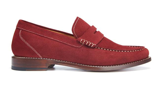 JT loafer red