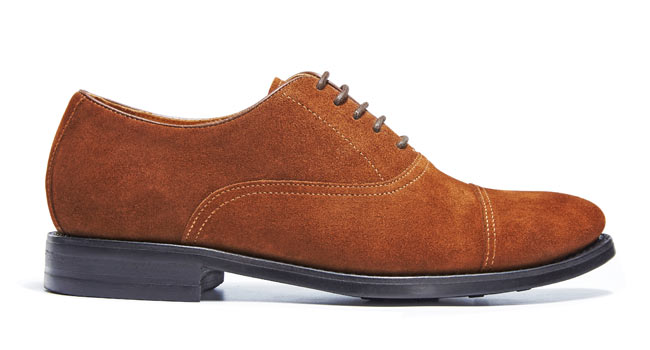 JT suede oxford with dainite