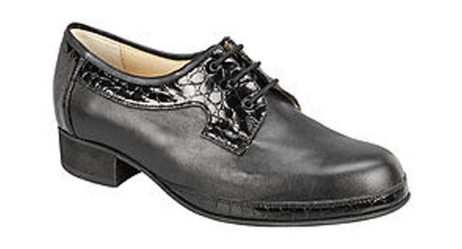 Ladies comfort Derby black