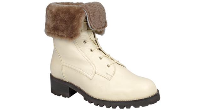 Ladies comfort Fur top boot