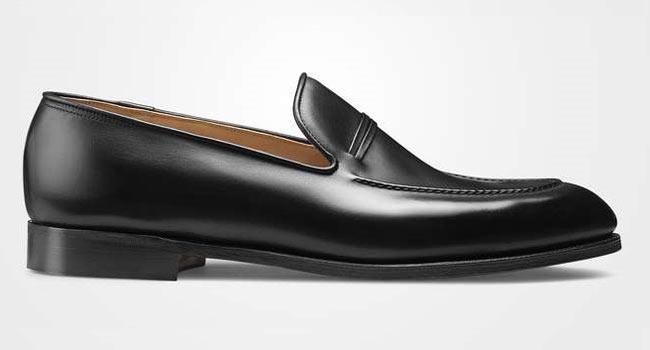 Penny loafer black
