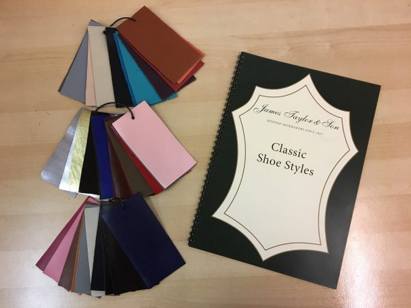 Leather colours and catalogue